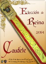 Cartel eleccion de reina 2014